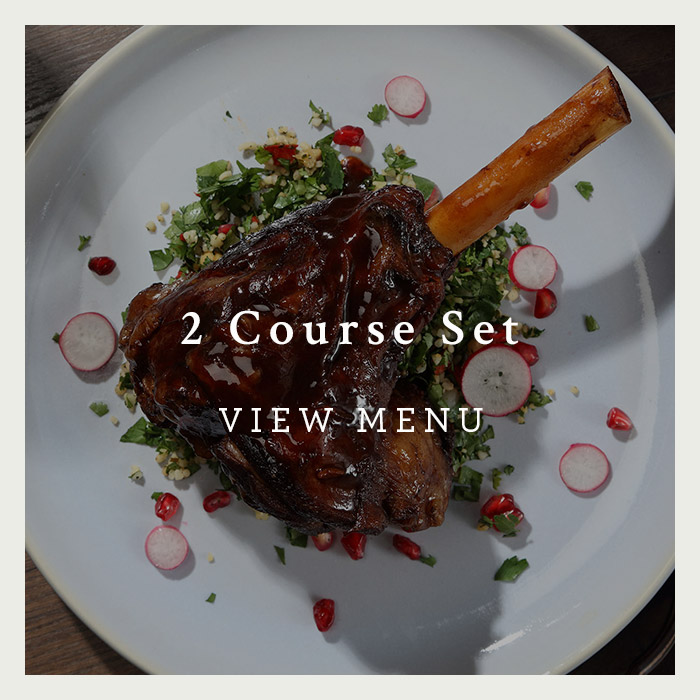2 Course Set Menu at the George of Harpenden