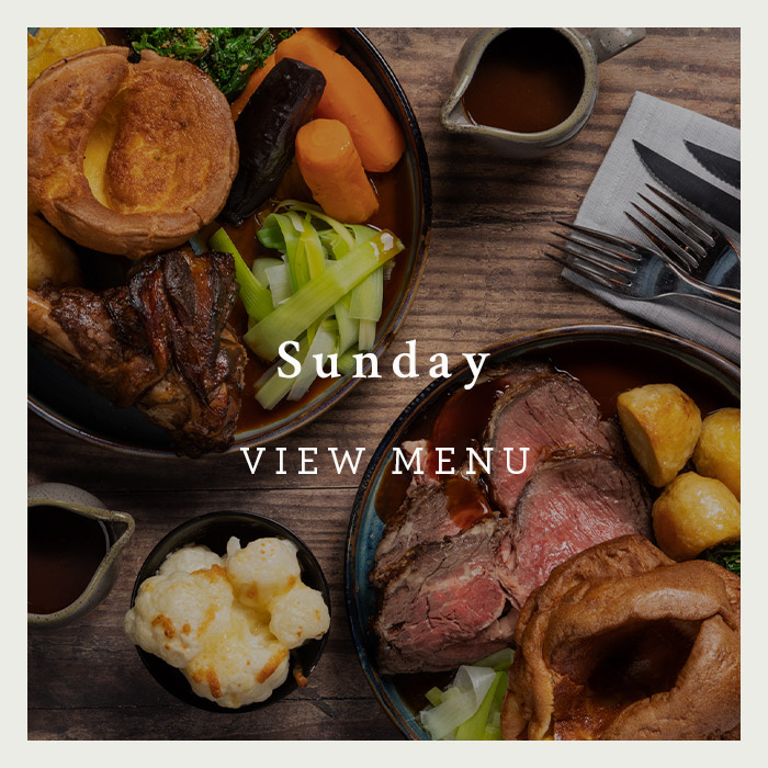 Sunday Menu at the George of Harpenden